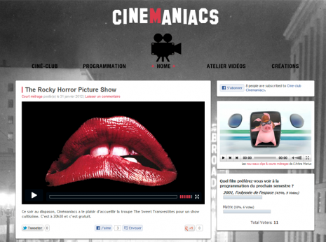 Cinemaniacs.fr