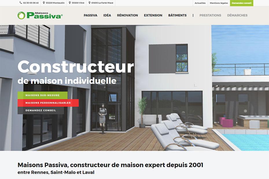 Constructeur de maison rennes maisons personnalis es passiva for Constructeur maison contemporaine rennes